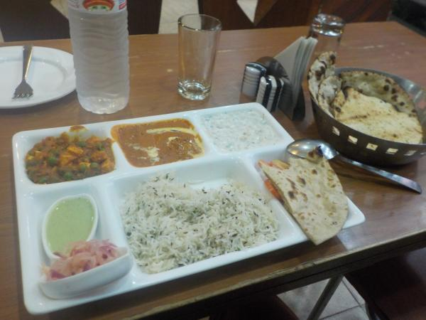 Thali in Tadka Restaurant, 4986, Ramdwara Road, Paharganj, New Delhi