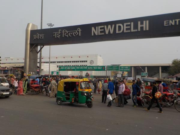Main Bazar Road, New Delhi Station